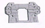 Front lower suspencion support plate